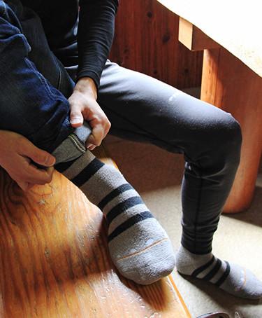 光電子®の靴下