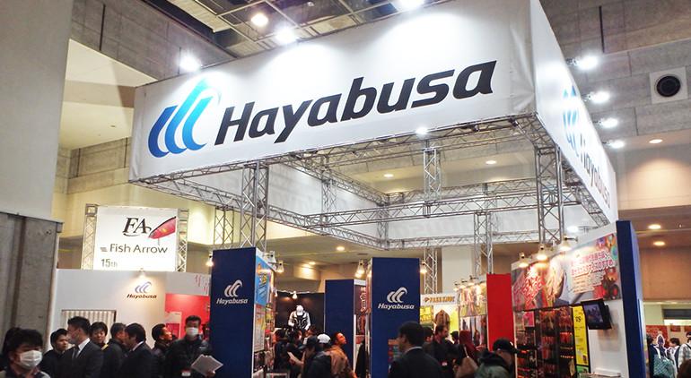 フィッシングショー Hayabusaブース