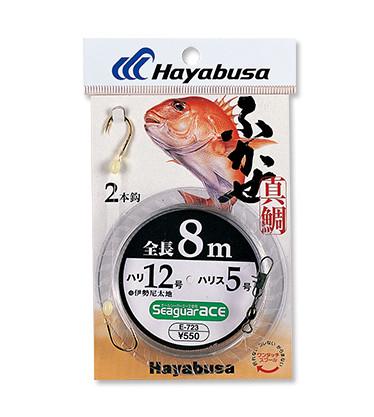 ふかせ真鯛 2本鈎1セット