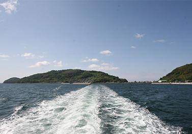 徳山沖の島々