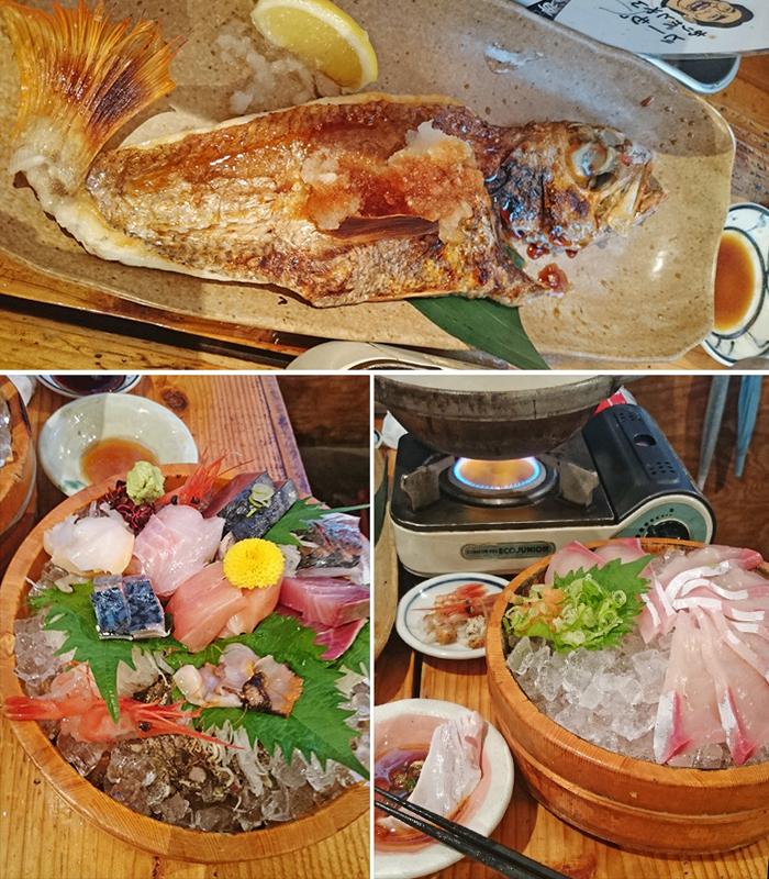 川端鮮魚店海鮮料理