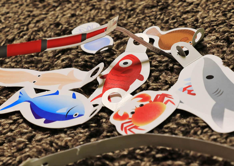 子供の釣りのおもちゃ