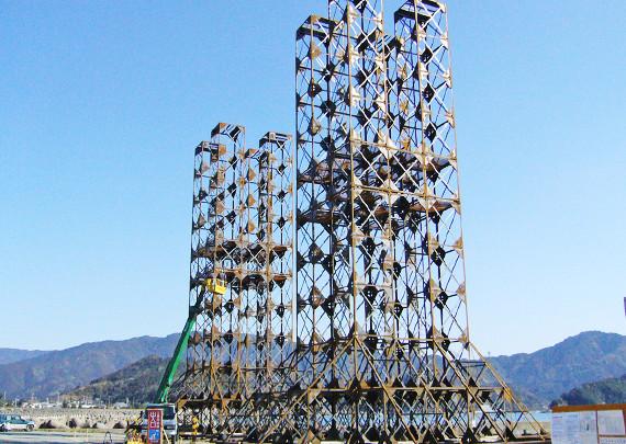 4本タワー構造の「タワーシリーズ」