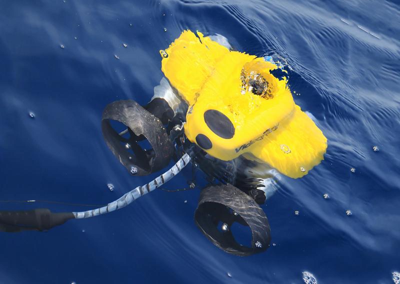 これが無人探査機(ROV)だ