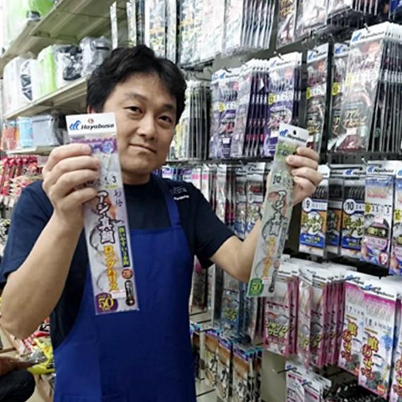 ビック釣具店代表の横山登隆さん