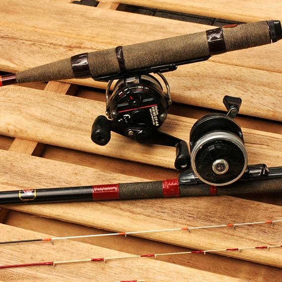 チヌかかり釣り用のタックル