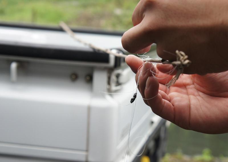 釣具の使い方