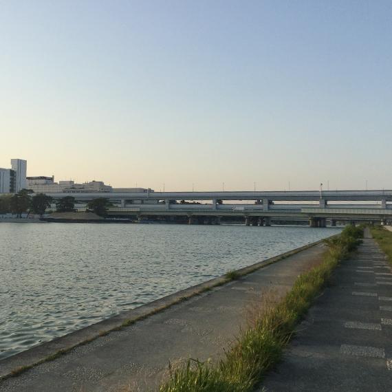 武庫川護岸