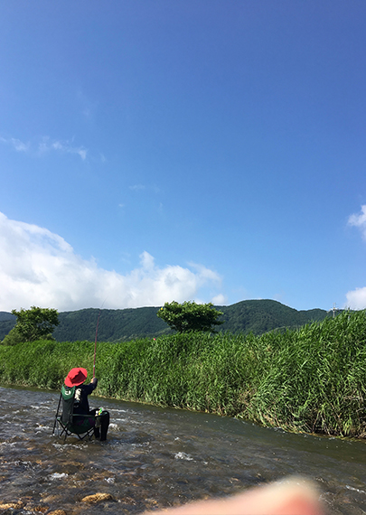 琵琶湖の川