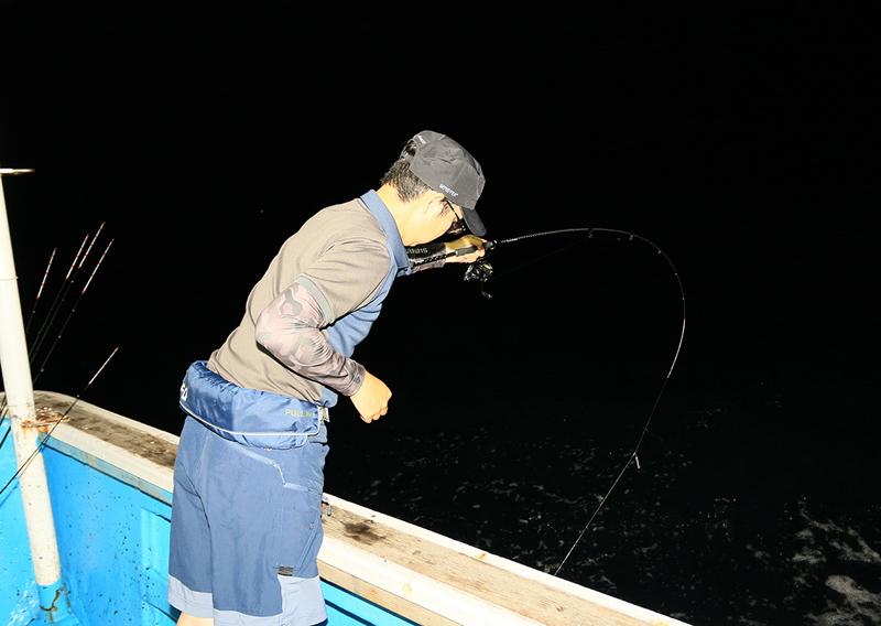 釣りシーン