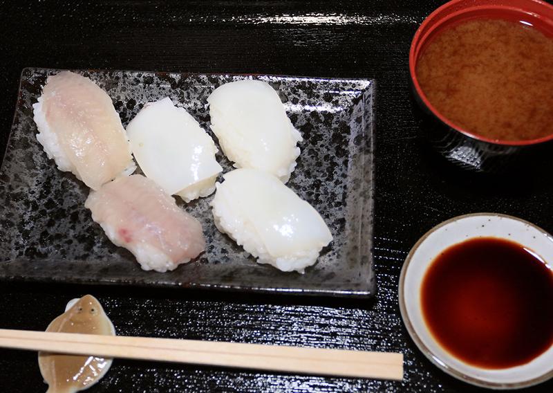 お寿司完成