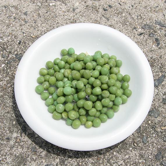 グリーンピース皿盛り