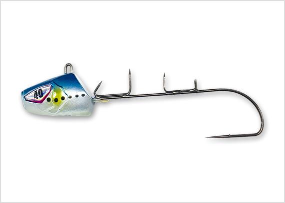 一刀両断 船太刀魚テンヤ速掛型 フッ素コーティングフック 妖艶イワシ