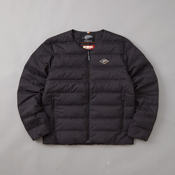 FOURON ROUND NECK DOWN JACKET ブラック