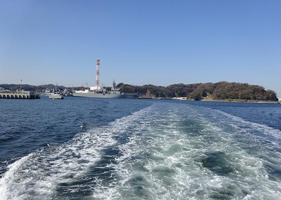 軍港めぐり風景12