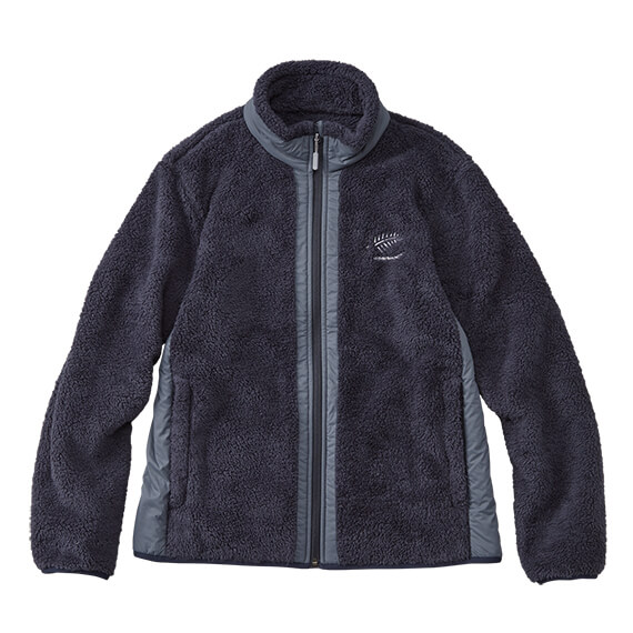 Y1137:フォーオン シェルパフリースジャケット