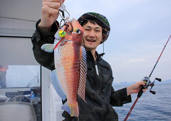 26_アマダイ釣果 岸本くん