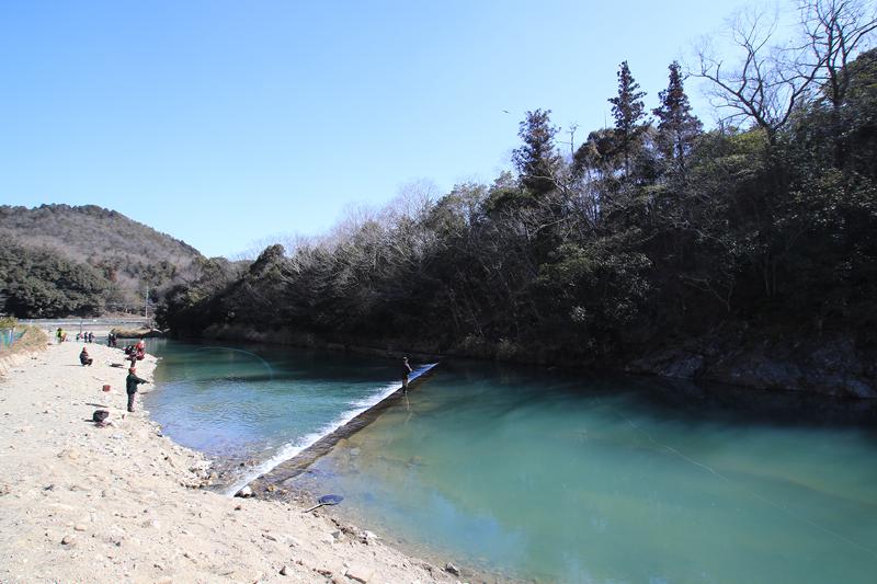 北田原ます釣り場