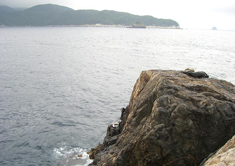 二並島の東の鼻