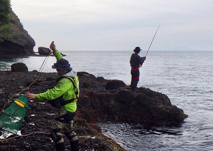 06_ 釣り場で準備