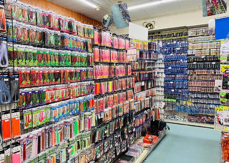 フィッシングマックス和歌山インター店 店内
