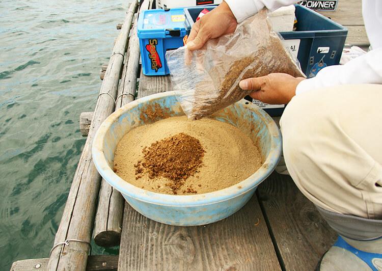 サナギ粉を配合