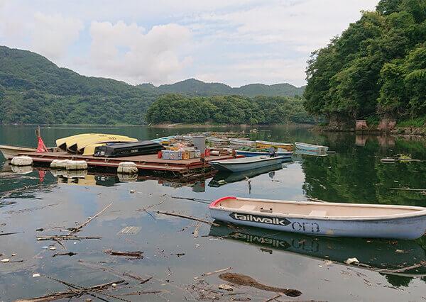 津久井湖レンタルボート (矢口釣具店)