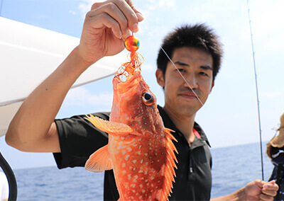 12_ IMG_3995.jpg 吉田くん(カサゴ)