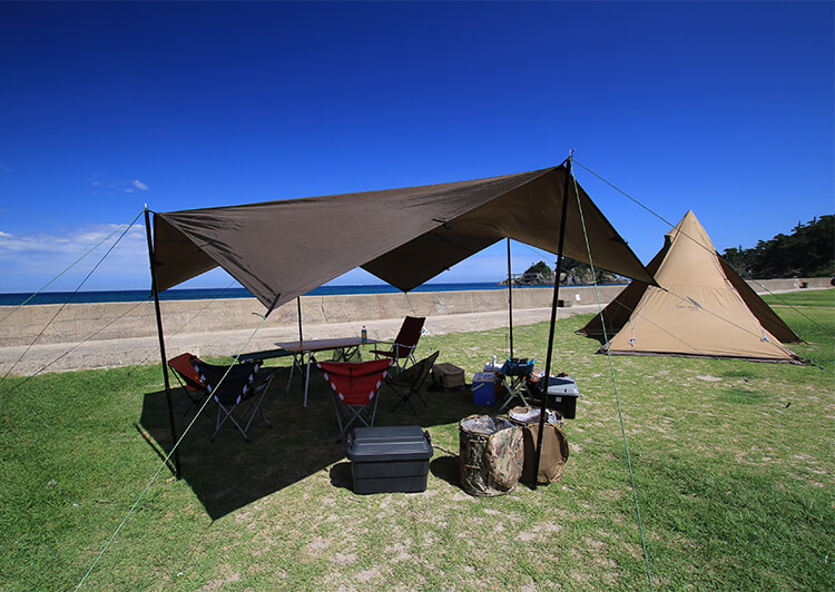 12_IMG_4242 キャンプ道具設置