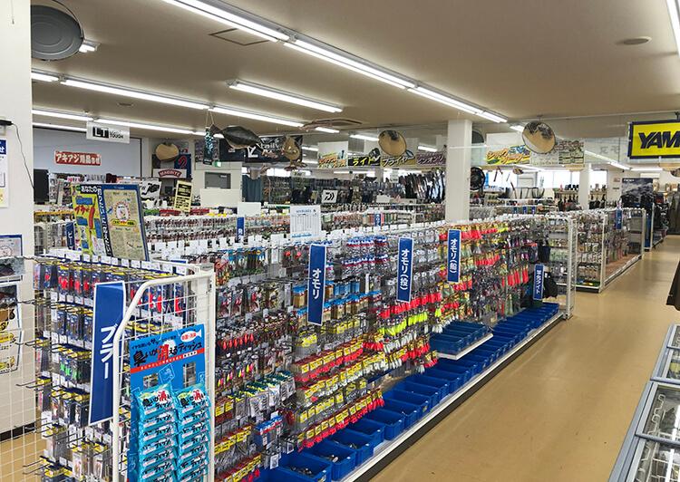 ジャンボイエロー金堀店 釣具館