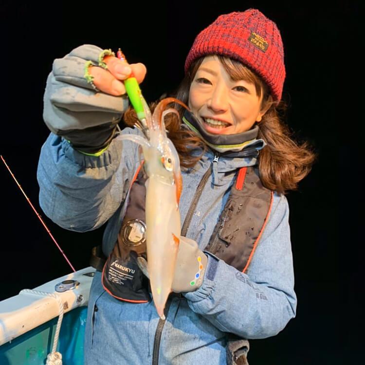 3 ケンサキイカ釣果