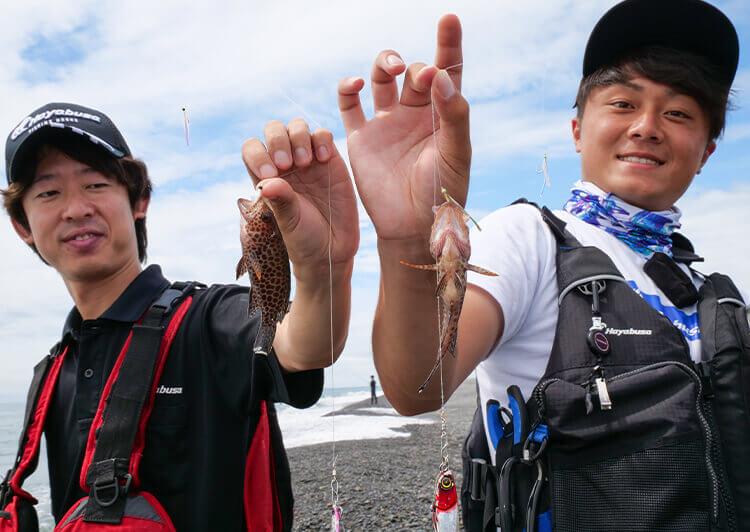 31_ ジギングサビキ釣果(人物あり)