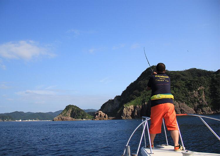 06_ 釣りシーン 船キャスティング