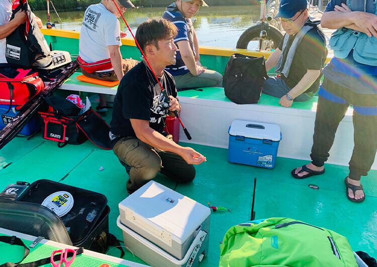 10_IMG_8694 松陽丸さんの釣り方レクチャー