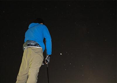 09_ 暮れた空に浮かぶ星