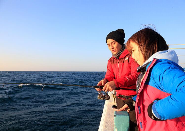 08_釣り方のレクチャー
