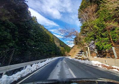 1 あまご村への道中