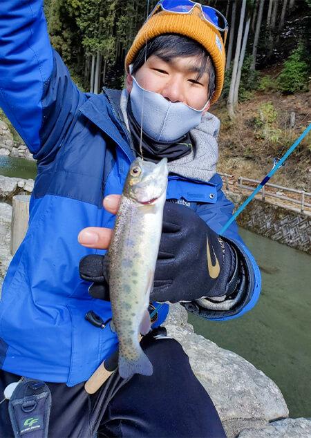 7 永井釣れました
