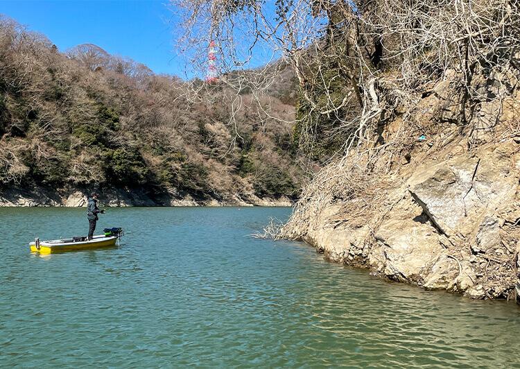02_ バス釣り風景