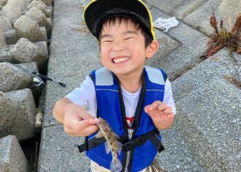 11_魚を釣って食べたいっ!子どもたちの願いを叶えるハゼ釣りへGO