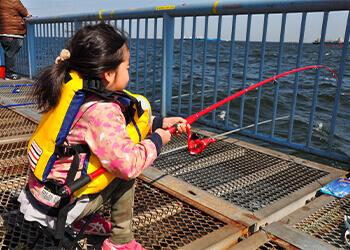 12_【番外編】嗚呼、いつか愛娘と一緒に… 船釣りデビューを夢見て、釣り公園で接待作戦!