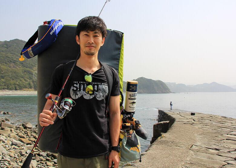釣り&クライミング(ボルダリング)_text-photo_岳原雅浩