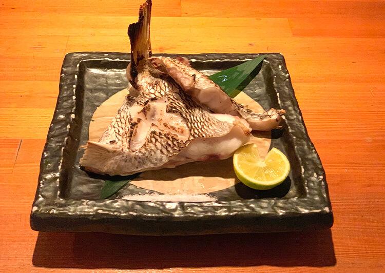 016_マダイ・カマ焼き
