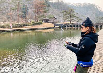 02_ 寒空の釣り