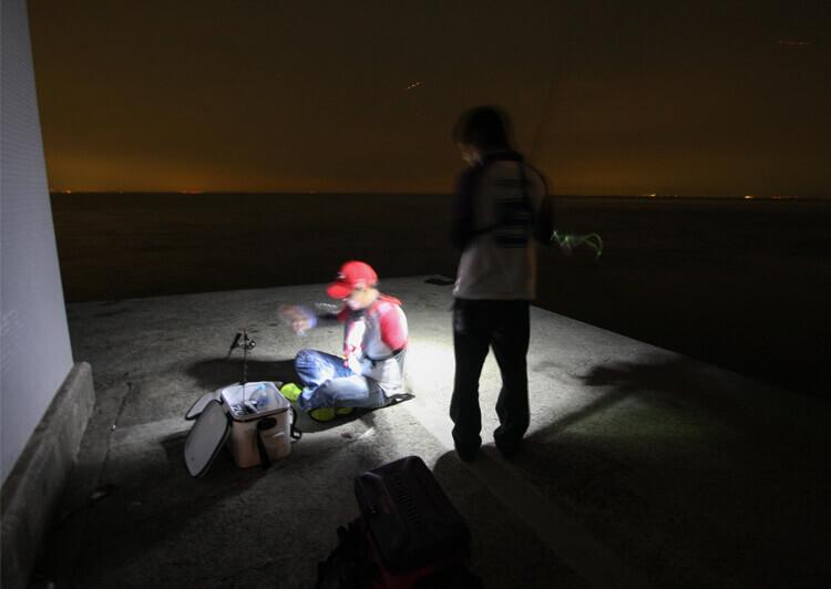 01 夜釣りシーン