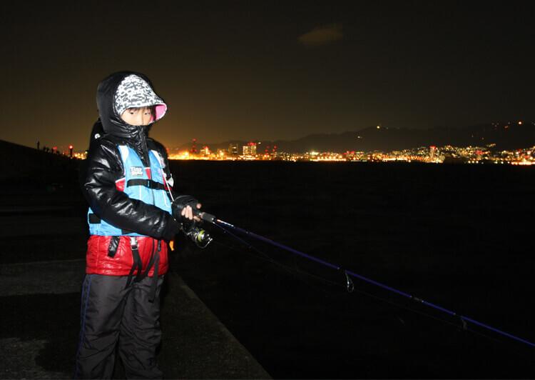 07 夜釣りは寒い