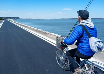 童心に帰れる!? 駅前レンタサイクルで挑む自転車deバッシング! in 北浦