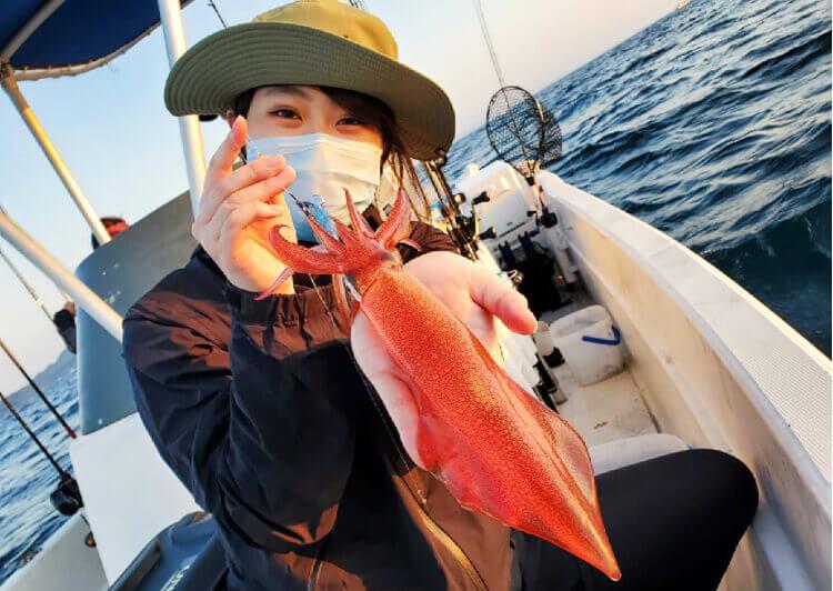 06_ ケンサキイカ釣果3