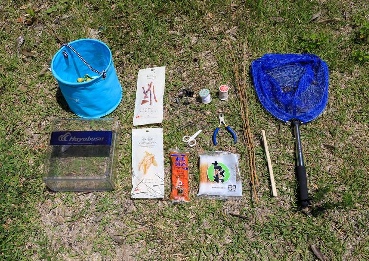 06_ IMG_1628_2021 ザリガニ釣り道具一式