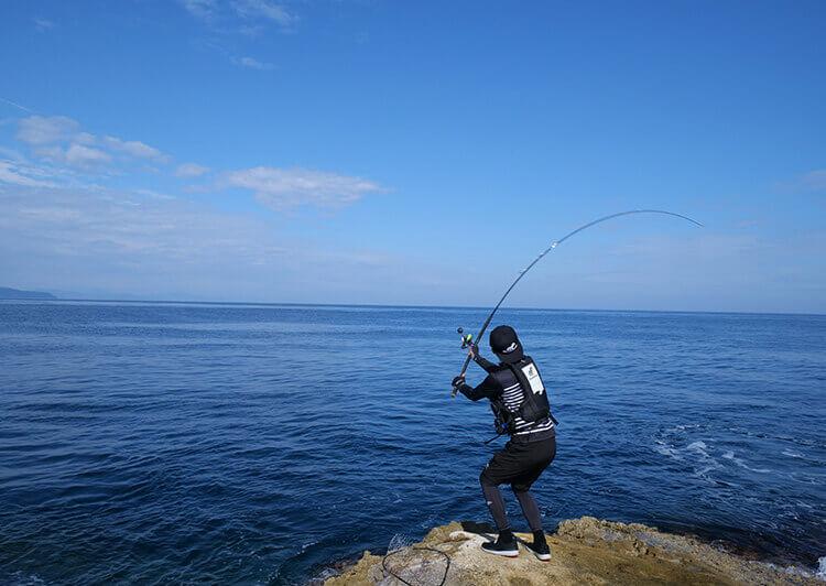 海投げ釣り